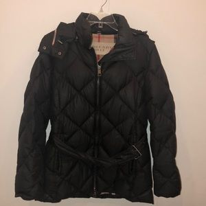 Burberry Brit Mid Length Down Puffer  size M